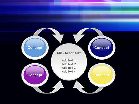 Abstract Multicolor Motion PowerPoint Template Slide 6