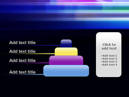 Abstract Multicolor Motion PowerPoint Template Slide 8