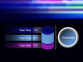 Abstract Multicolor Motion PowerPoint Template#11