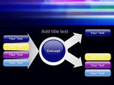 Abstract Multicolor Motion PowerPoint Template#14