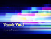 Abstract Multicolor Motion PowerPoint Template#20
