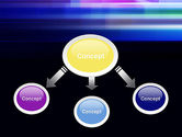 Abstract Multicolor Motion PowerPoint Template#4