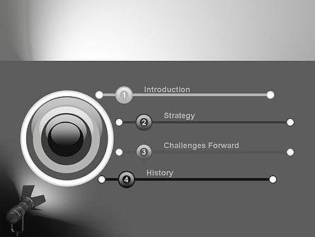 Spotlight PowerPoint Template, Slide 3, 11200, Art & Entertainment — PoweredTemplate.com