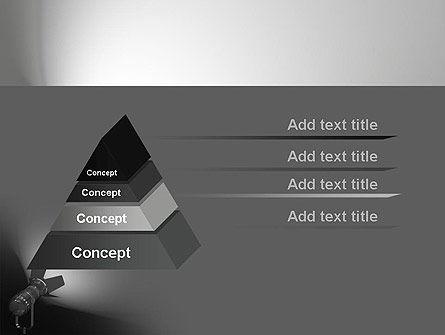 spotlight powerpoint template, backgrounds | 11200, Modern powerpoint