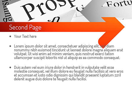 Prosperity PowerPoint Template Slide 2