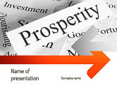 Business Concepts: Prosperity PowerPoint Template #11207