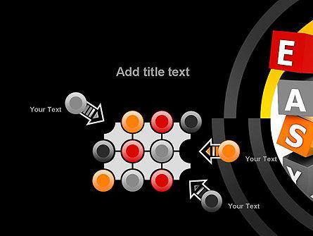 Easy Blocks PowerPoint Template Slide 10