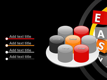 Easy Blocks PowerPoint Template Slide 12