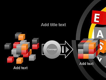 Easy Blocks PowerPoint Template Slide 17