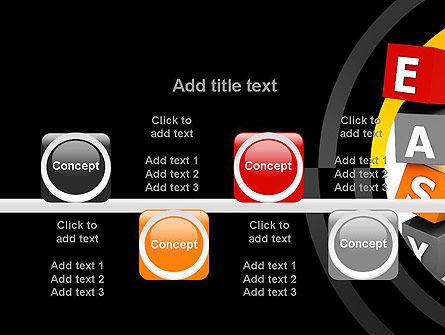Easy Blocks PowerPoint Template Slide 18