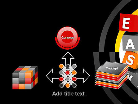 Easy Blocks PowerPoint Template Slide 19
