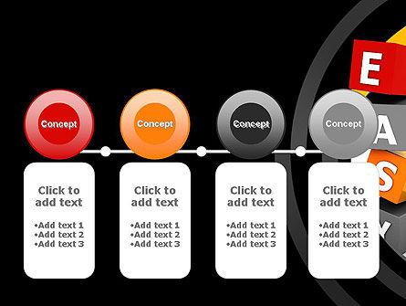 Easy Blocks PowerPoint Template Slide 5