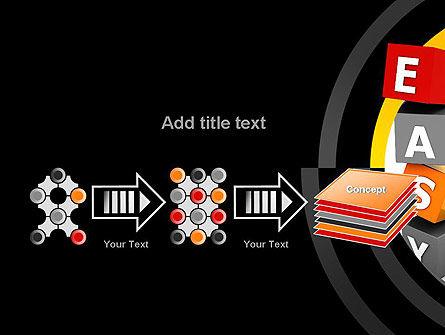 Easy Blocks PowerPoint Template Slide 9