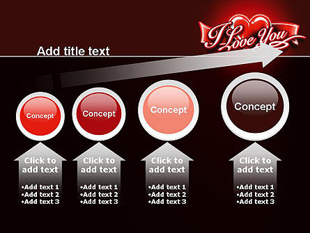 I Love You PowerPoint Template Slide 13