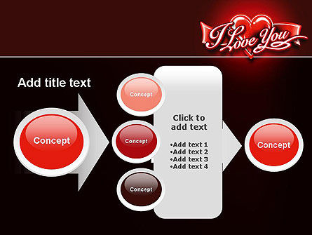 I Love You PowerPoint Template Slide 17