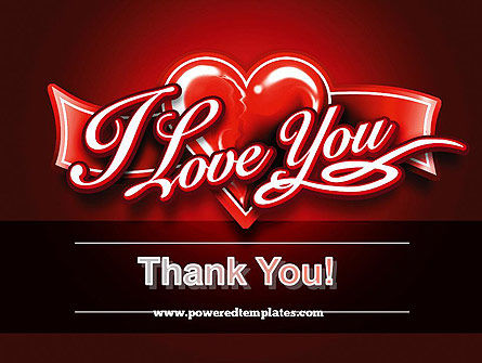 I Love You PowerPoint Template Slide 20