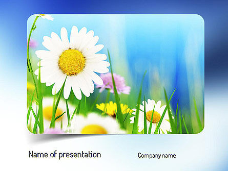 Nature & Environment: Nature and Beauty PowerPoint Template #11214