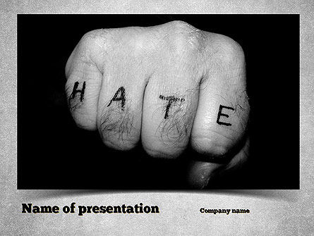 Hate PowerPoint Template