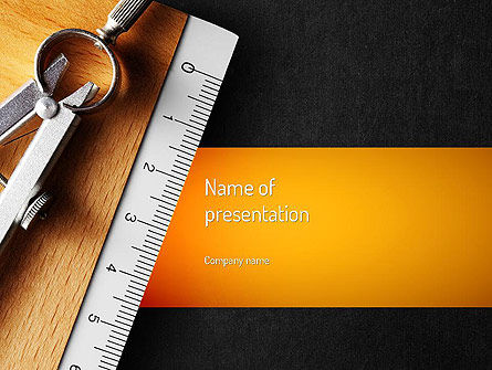 Education & Training: School Themed PowerPoint Template #11219