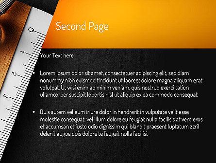 School Themed PowerPoint Template, Slide 2, 11219, Education & Training — PoweredTemplate.com