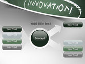 Innovation Mind Map PowerPoint Template#14