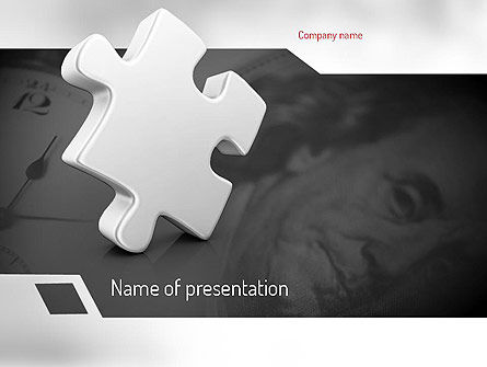 Business Concepts: Business Effectiveness Puzzle PowerPoint Template #11225