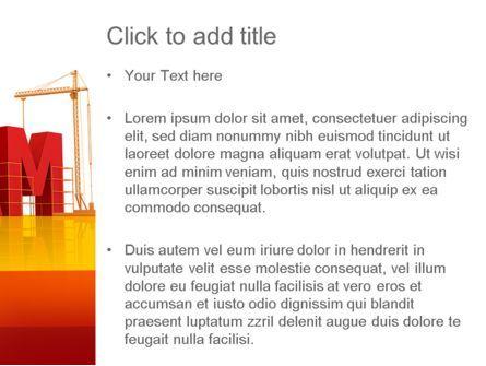 Team Building Under Construction PowerPoint Template, Slide 3, 11226, Careers/Industry — PoweredTemplate.com