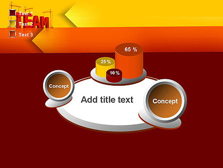 Team Building Under Construction PowerPoint Template Slide 16