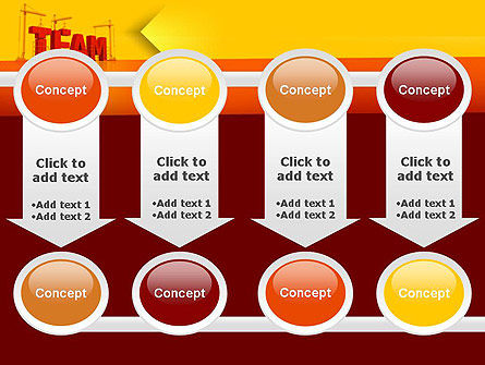 Team Building Under Construction PowerPoint Template Slide 18