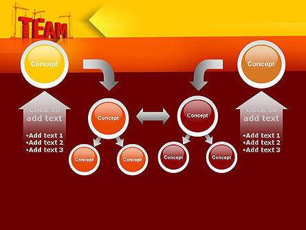 Team Building Under Construction PowerPoint Template Slide 19