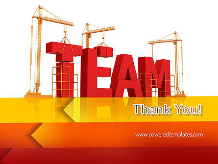 Team Building Under Construction PowerPoint Template Slide 20