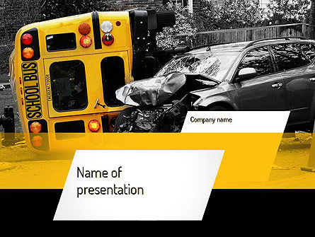 School Bus Accident PowerPoint Template