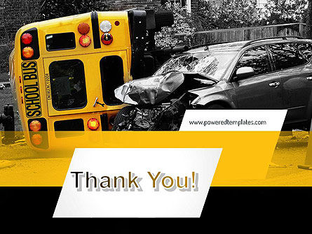 School Bus Accident PowerPoint Template Slide 20