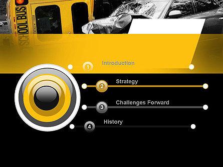 School Bus Accident PowerPoint Template, Slide 3, 11229, Legal — PoweredTemplate.com