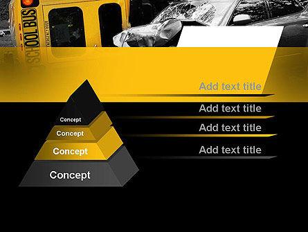 School Bus Accident PowerPoint Template, Slide 4, 11229, Legal — PoweredTemplate.com