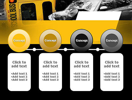 School Bus Accident PowerPoint Template Slide 5