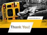School Bus Accident PowerPoint Template#20
