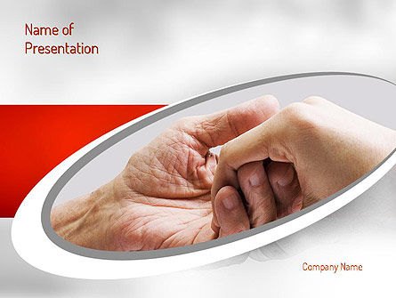 Religious/Spiritual: Elderly Care PowerPoint Template #11230