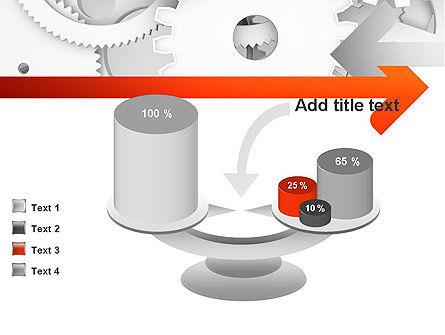 Working Cogwheels PowerPoint Template Slide 10