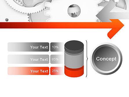 Working Cogwheels PowerPoint Template Slide 11