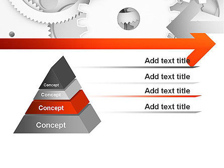 Working Cogwheels PowerPoint Template Slide 12