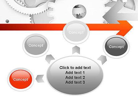 Working Cogwheels PowerPoint Template Slide 7