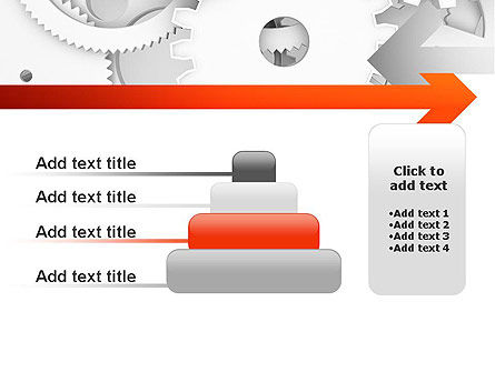 Working Cogwheels PowerPoint Template Slide 8