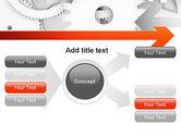 Working Cogwheels PowerPoint Template#14