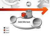 Working Cogwheels PowerPoint Template#16