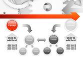 Working Cogwheels PowerPoint Template#19