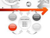 Working Cogwheels PowerPoint Template#6