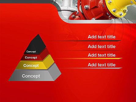 Industrial Pipe Junction PowerPoint Template Slide 12