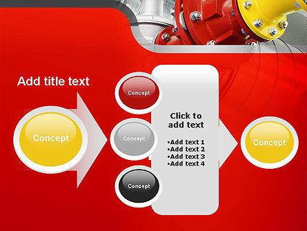 Industrial Pipe Junction PowerPoint Template Slide 17