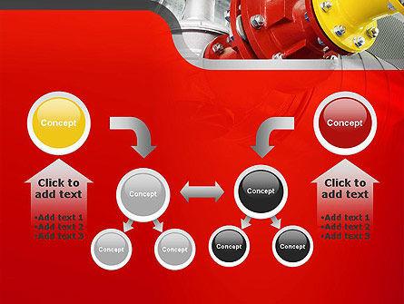 Industrial Pipe Junction PowerPoint Template Slide 19